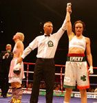 Jill Emery makes history in Ireland