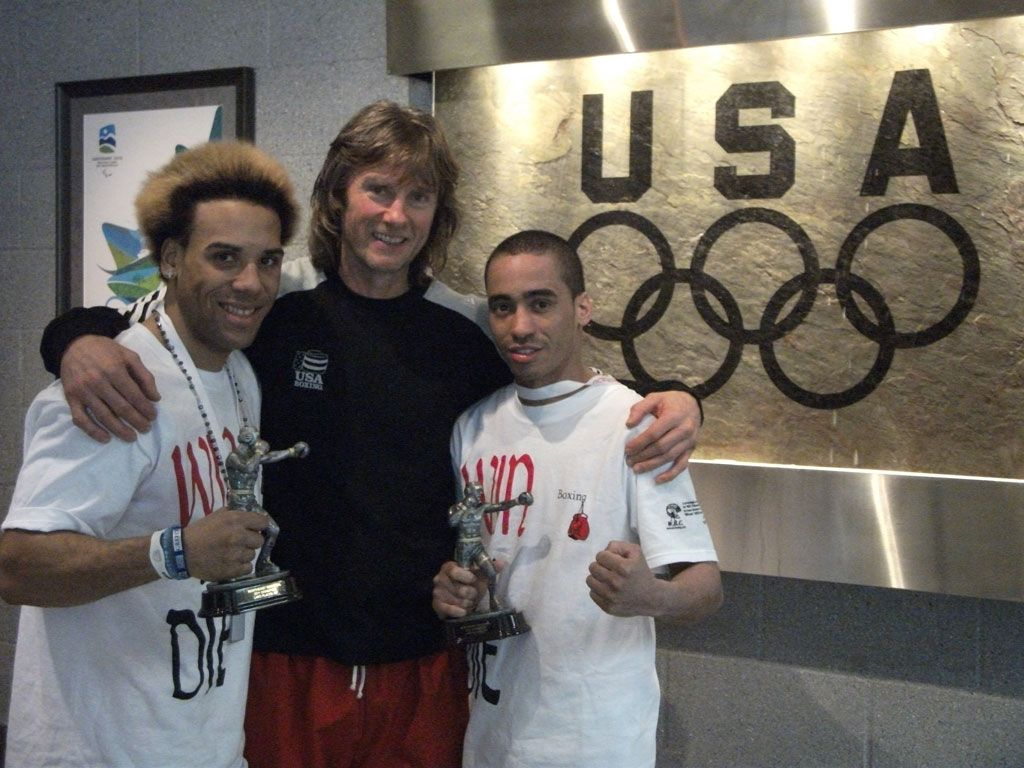 Two of Michael Kozlowski's fighters won the USA Boxing regional competition!
