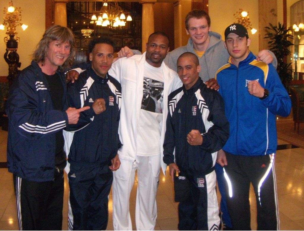Coach Mike's 2011 Golden Gloves GOLDEN TEAM wishing GOOD LUCK to Roy Jones in Moscow!