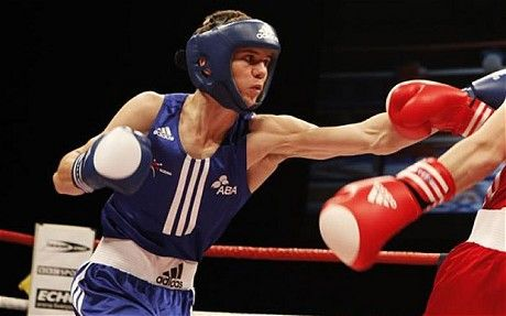 English Boxer Luke Campbell Wins a Silver Medal at the 2011 World Championships in Baku, Azerbaijan.