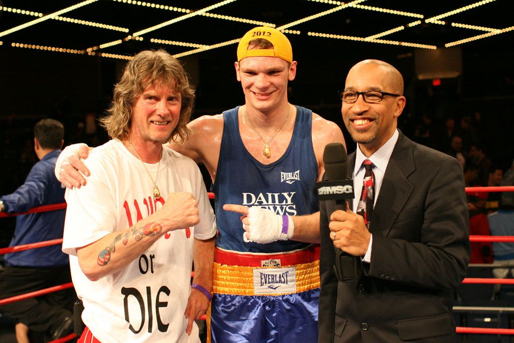 Yegor Plevako – two time Golden Gloves Champion!