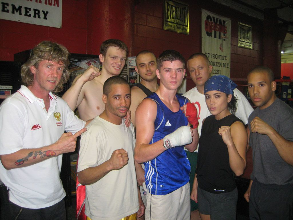 Russian boxing trainer, Michael Kozlowski, helps the English National Boxing team prepare 2008 European Champion, Luke Campbell, and makes a 2012 Champion of Europe out of Yegor Plevako for the Ukraine!