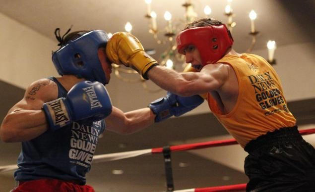 Kamil Abdulzhanov (WIN or DIE Boxing Club) open his 2013 Daily News Golden Gloves !