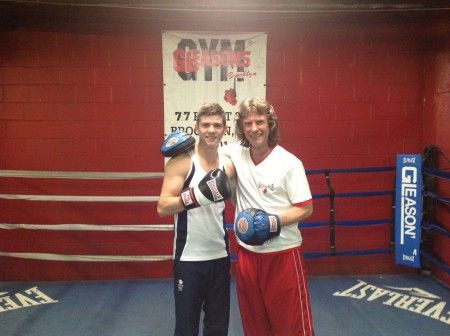 2012 Olympic Champion Luke Campbell prepares for his pro debut. VIDEO.