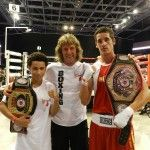 Boxing Coach Michael Kozlowski's students, Evan Ferreira and Julio Alamos – Champions of 2013 RINGSIDE World Championships !