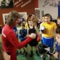 """American trainer, Michael Kozlowski, on boxing tournament in """"Memory of the Kolomna boxers"""", in Russia."""