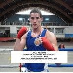 Student of Russian boxing trainer, Michael Kozlowski, became the Chilean National Champion !
