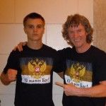 18 years old boxer from Russia, Nikita Miroshnichenko, has begun his professional career in America!