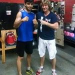 Champion of India continues to learn boxing technique in USA under direction of Russian trainer Michael Kozlowski…