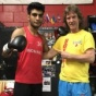 Champion of India of 2016, Aditya Maan, continues learning Russian – Kazhakstan Boxing technique under direction of Boxing Coach Michael Kozlowski.