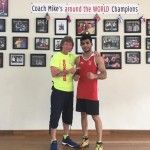 Champion of India Aditya Maan arrived to New York again to continue learning School of Boxing with trainer of Champions Michael Kozlowski.