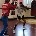 Boxing Coach Michael Kozlowski continues to work in the training camp of the Olympic Champion, Luke Campbell, in England.