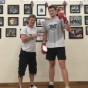 An attorney from Germany, Ivo Simik, flew back to the United States to train with the Boxing Coach, Michael Kozlowski.