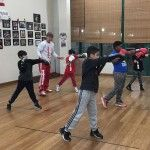 Boxing Trainer, Michael COACH MIKE Kozlowski continues to train Classes for Kids !