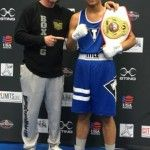 Boxing Coach Mike's young Prospect, Emmanuel Arenas, won his New York Junior Olympic Title!