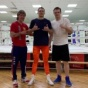 "Boxing trainer, Michael ""Coach Mike"" Kozlowski, visited the training camp of Undisputed World Champion Oleksandr Usyk."