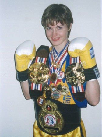 Jill Emery ready to be professional boxer !