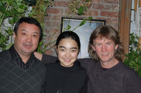With International movie star (Nomad, Ulzhan), Ayanat Yesmagambetova