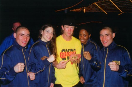 "Boxing trainer Michael ""Coach Mike"" Kozlowski's Golden Champions"