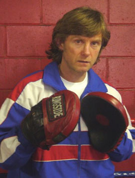 "Boxing trainer Michael ""Coach Mike"" Kozlowski"