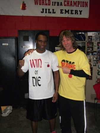 "Boxing trainer Michael ""Coach Mike"" Kozlowski and Vivian Harris."