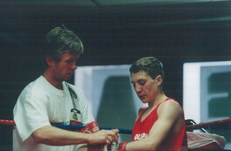 Michael Kozlowski and his 1998 ISRAEL National Junior Olympic CHAMPION Edgar Yakubov