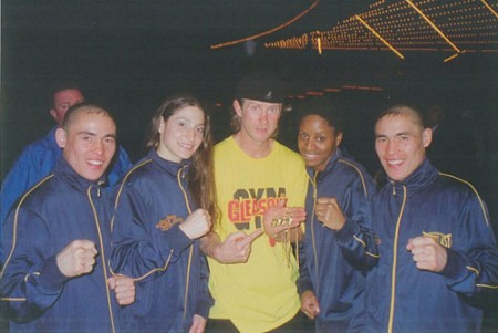 Michael Kozlowski and his 2006 New York GOLDEN GLOVES CHAMPIONS