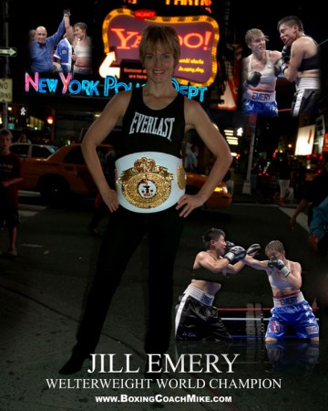 Jill Emery - IFBA Welterweight Champion of the World