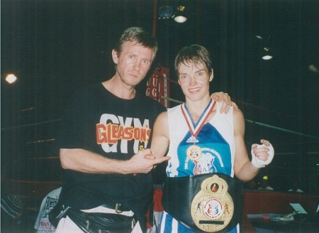 Michael Kozlowski and his 2002 USA National PAL CHAMPION Jill Emery
