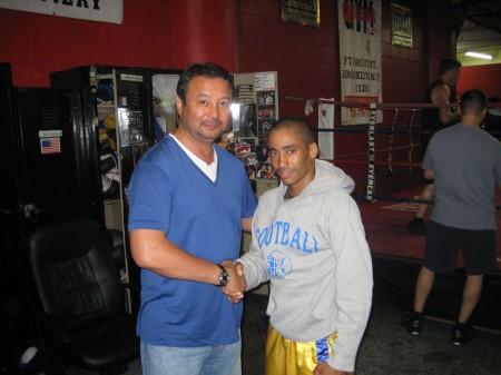 Serik Konakbaev and Juan Roman meet again, but now in US !