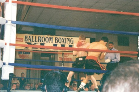 In the ring Yuri Foreman vs George Armenta
