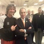 Michael mit dem Bürgermeister von NY, Bloomberg