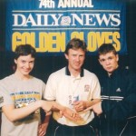 Michael mit Jill und Yuri - Golden Gloves Sieger