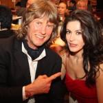 Michael mit seiner Frau Olesya