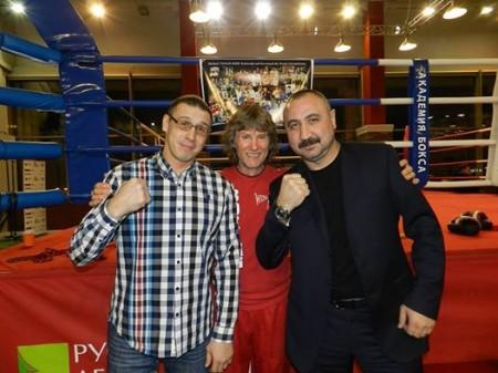 Sergey Grigoriev, Michael Kozlowski, Alexander Lebzyak.