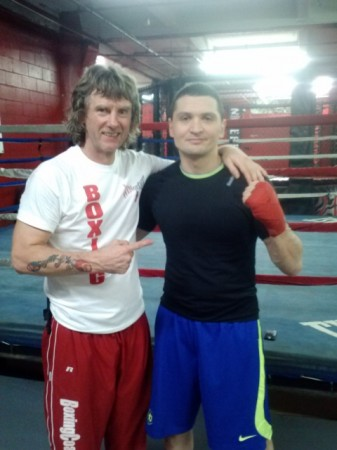 As always, there was no time to make picture together. On this photo, exactly one year ago, the moment when, after a break in 20 years, training of the First Prospect of trainer Michael Kozlowski, Timofey Kurgin, in America, took place...