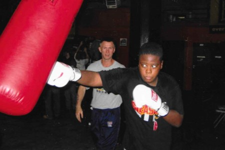 Young Prospect of Boxing Coach Michael Kozlowski, Joe Nubia.