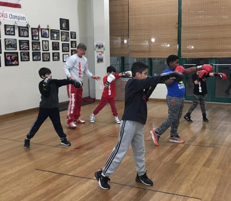 Coach Mike's Boxing Classes for kids