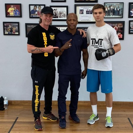 Michael Kozlowski, Zab Judah, Nikita Miroshnichenko.