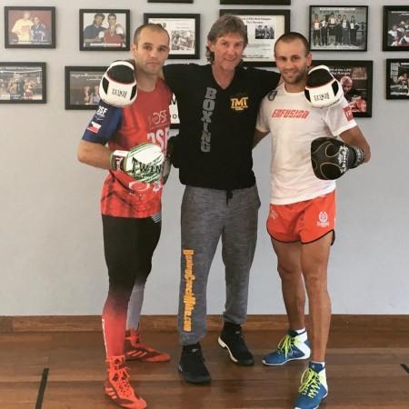 Pavol Goraj, Coach Michael Kozlowski, Milan Pales.