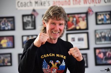 Boxing Coach Mike Kozlowski