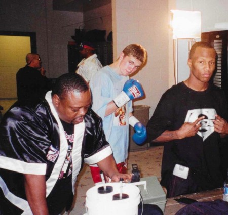2001  Las Vegas.  Yuri Foreman is preparing for his professional debut, and Zab Judah for the fight with Kostya Tszyu.