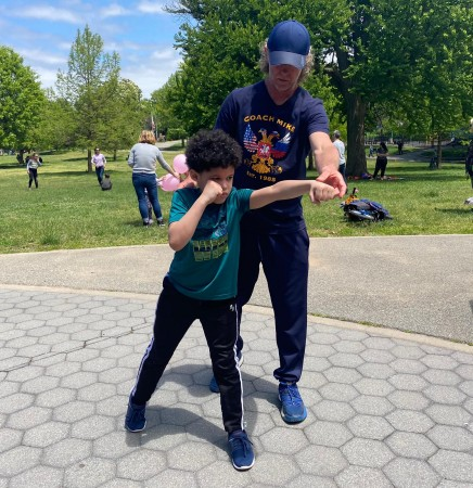 Alex with Coach Mike Kozlowski