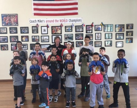 Boxing classes for kids with Michael Kozlowski