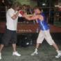 European Champion Luke Campbell training in New York City, again…