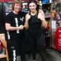 Boxing Trainer Michael 'Coach Mike' Kozlowski created the nickname of the World Champion Christina Hammer!