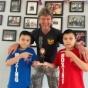 Carolina Gabrera, the Mom of twin boys, talks about Boxing Trainer Michael COACH MIKE Kozlowski.